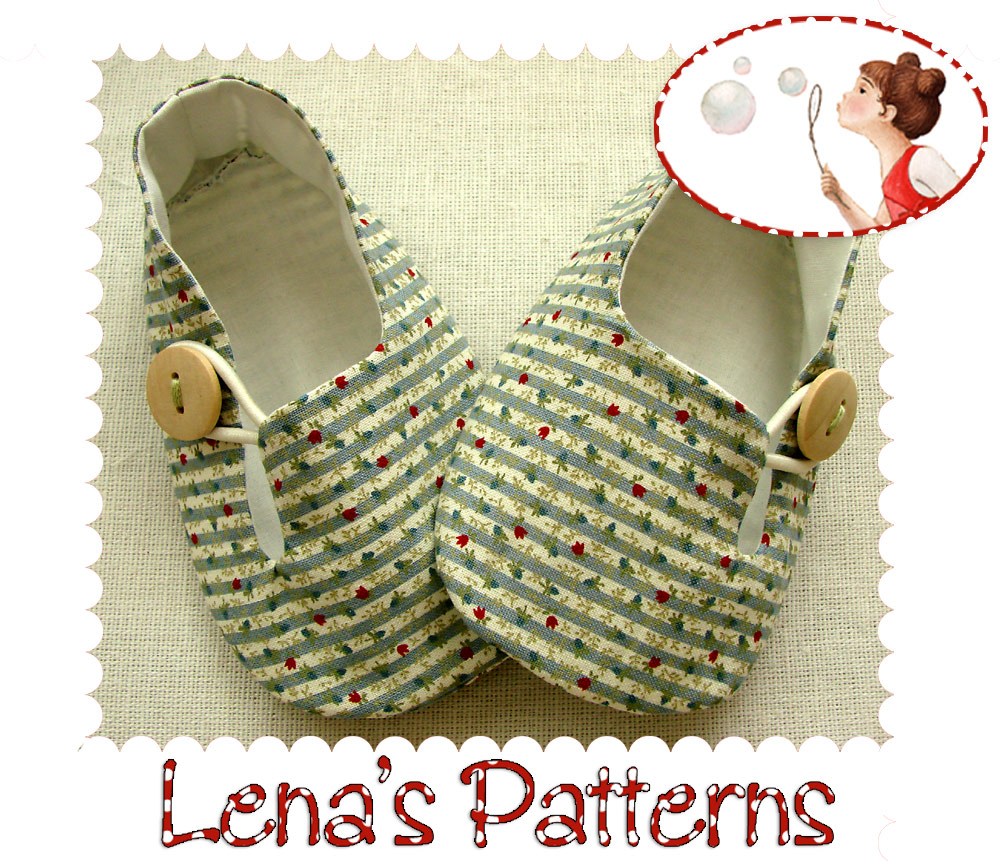 88841b6ecc8 Tulip Baby Loafers Sewing Pattern on Luulla